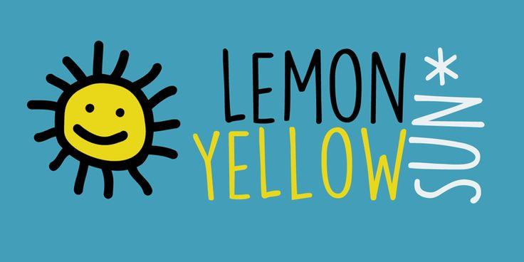 DK Lemon Yellow Sun Font | dafont.com