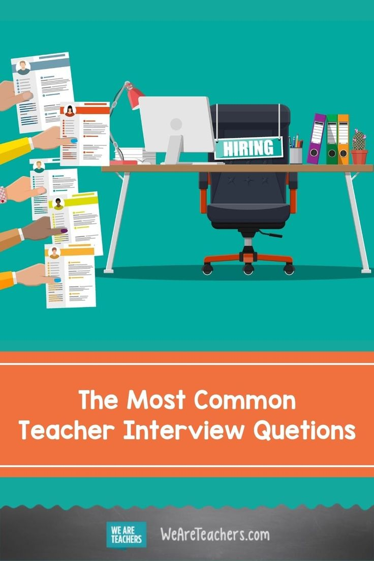 20 interview questions every teacher must be able to