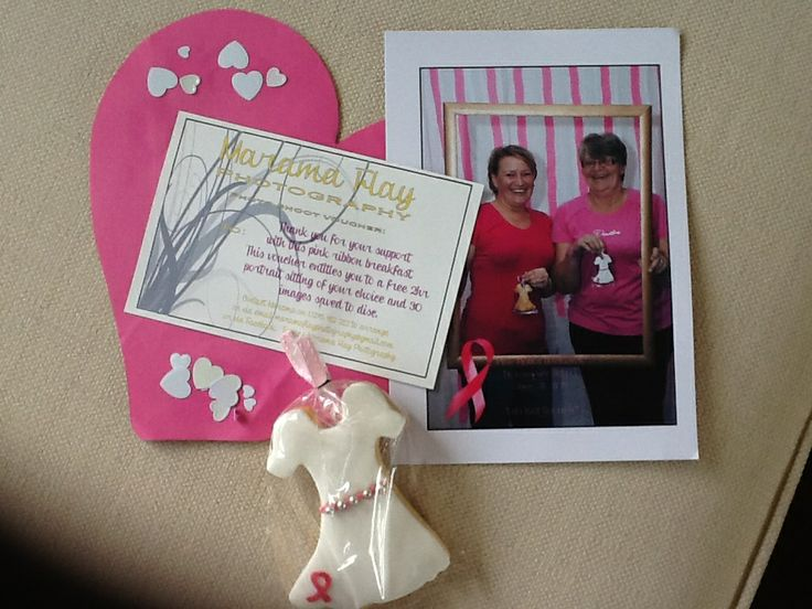 Some goodies from Ali's Pink Ribbon Breakfast!