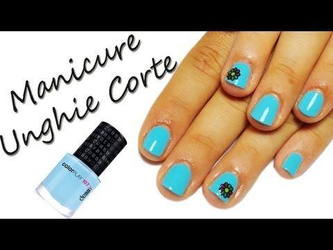 Come Fare Crescere le UNGHIE CORTE+Manicure Sos Unghie #5 - YouTube