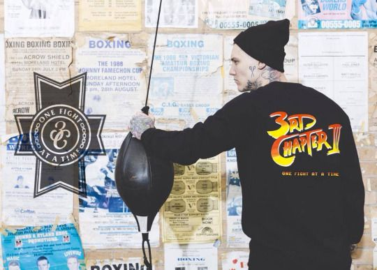 "Third Chapter ""Streetfighter Crewneck"""