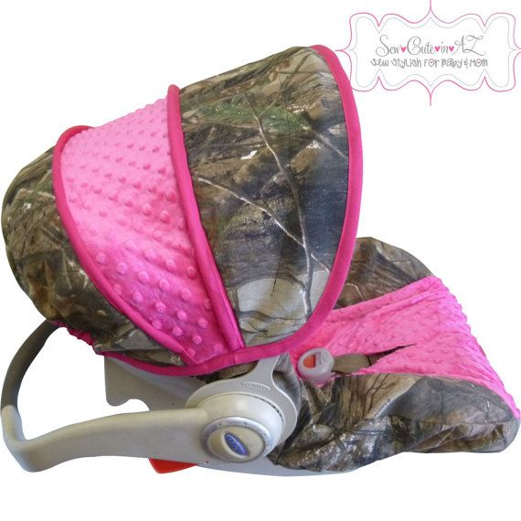 Camo With Hot Pink Infant Car Seat Cover Cars Infant