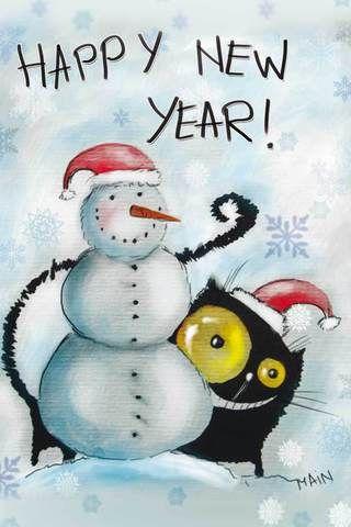 294 Happy New Year! Рисунок Кати Чуйковой