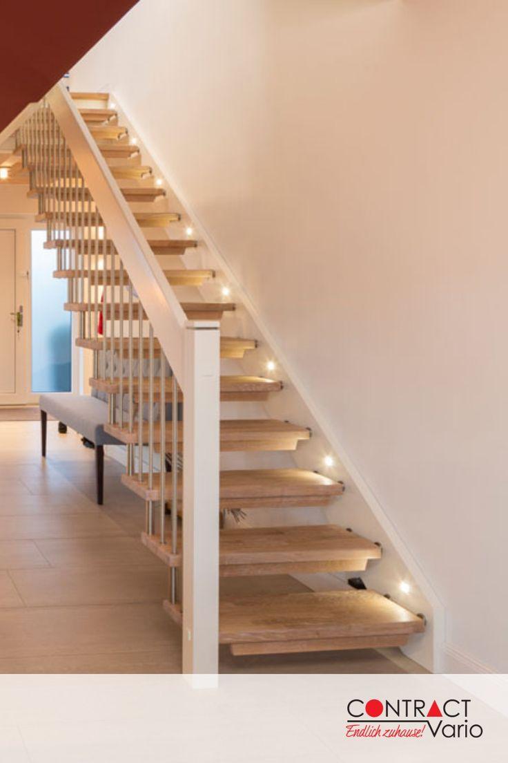beleuchtete Treppe #treppe