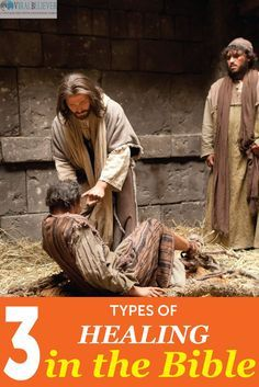 What are the types of healing found in the Bible? Why are they important? Healing is an important subject that Jesus modeled for us while He was here on this earth.