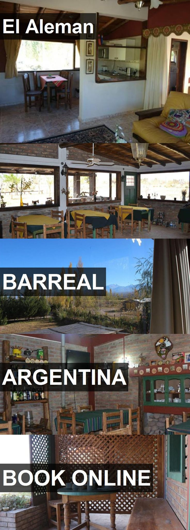 Hotel El Aleman in Barreal, Argentina. For more information, photos, reviews and best prices please follow the link. #Argentina #Barreal #travel #vacation #hotel