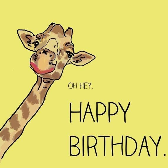 Pin By Brenda Engel On Birthday Greetings Giraffe Happy Birthday Funny Happy Birthday Images Birthday Card Sayings