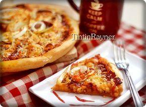 Pizza tanpa Ulen / no Knead ,mudah,lezat ;)