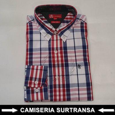 Camisa Cuadros Surtransa 1132