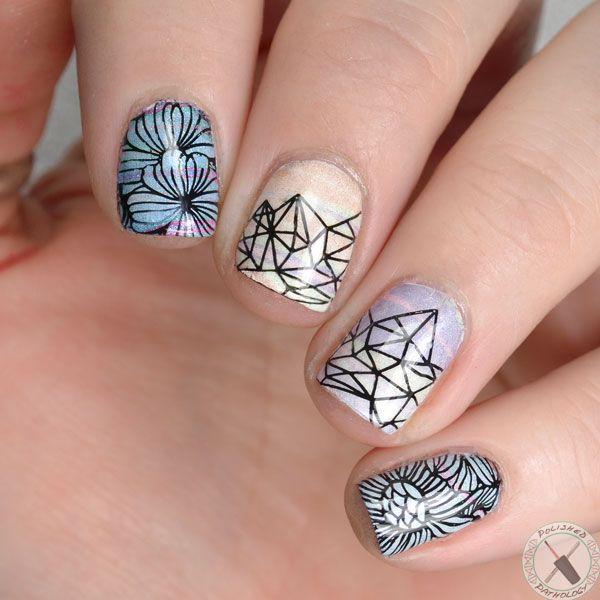 157 best Polished Pathology Nail Art images on Pinterest | Nailed it ...