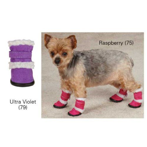 Casual Canine Cozy Sherpa Bright Hot Pink Raspberry Sorbet UGG Type Boots for Dogs Large - http://www.thepuppy.org/casual-canine-cozy-sherpa-bright-hot-pink-raspberry-sorbet-ugg-type-boots-for-dogs-large/
