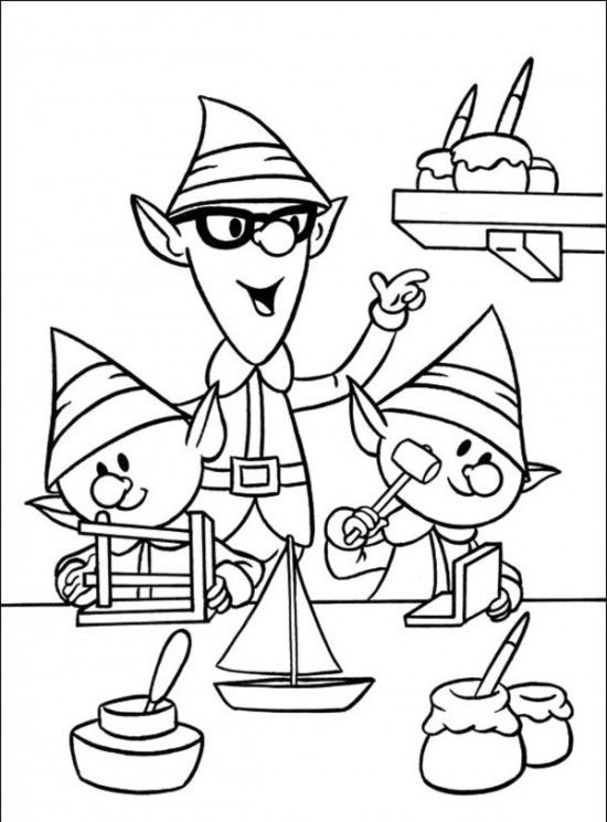 Yukon cornelius pages coloring pages for Christmas coloring pages rudolph