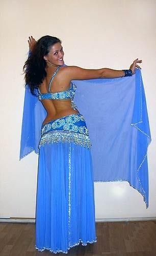 Как самостояельно сшить костюм для арабских танцев