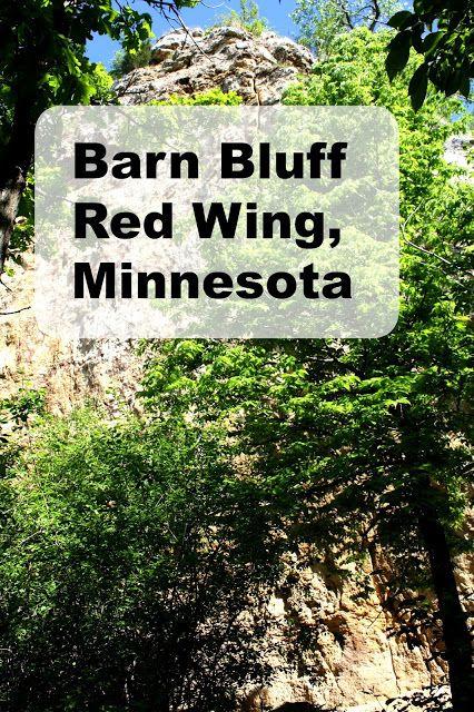Barn Bluff in Red Wing, Minnesota