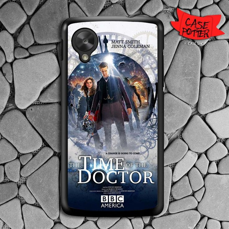 The Time Of The Doctor Who Nexus 5 Black Case
