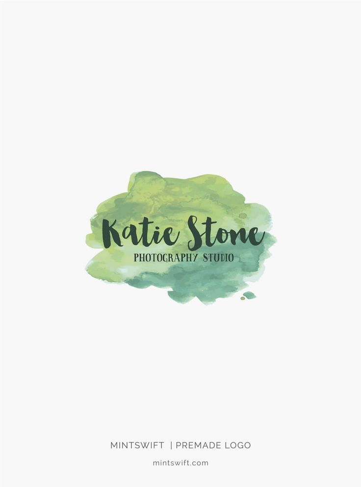 $39 | Katie Stone Premade Logo Design | MintSwift