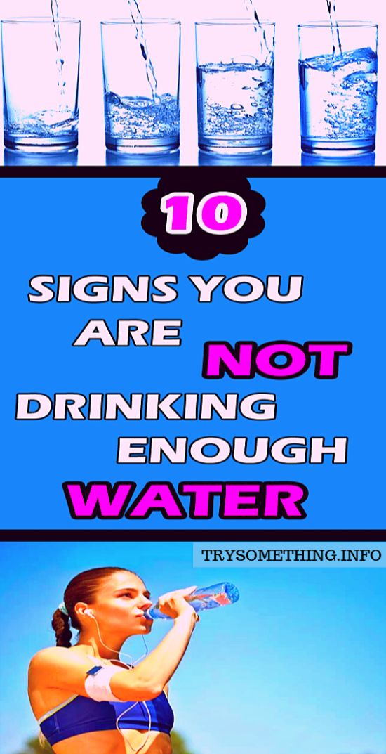 10 Signs You Are Not Drinking Enough Water !!!