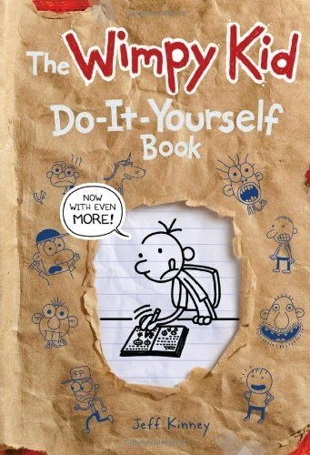 The Wimpy Kid Do-It-Yourself-Book