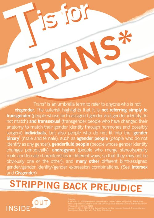 What does Trans mean?
