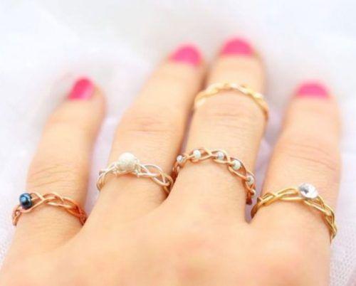 20 Handmade Ring Tutorials: DIY Jewelry