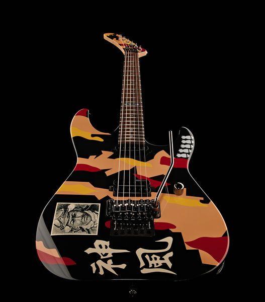 ESP LTD GL-200K George Lynch signature electric guitar, basswood body, bolt-on maple neck, rosewood fretboard #thomann #music #esp