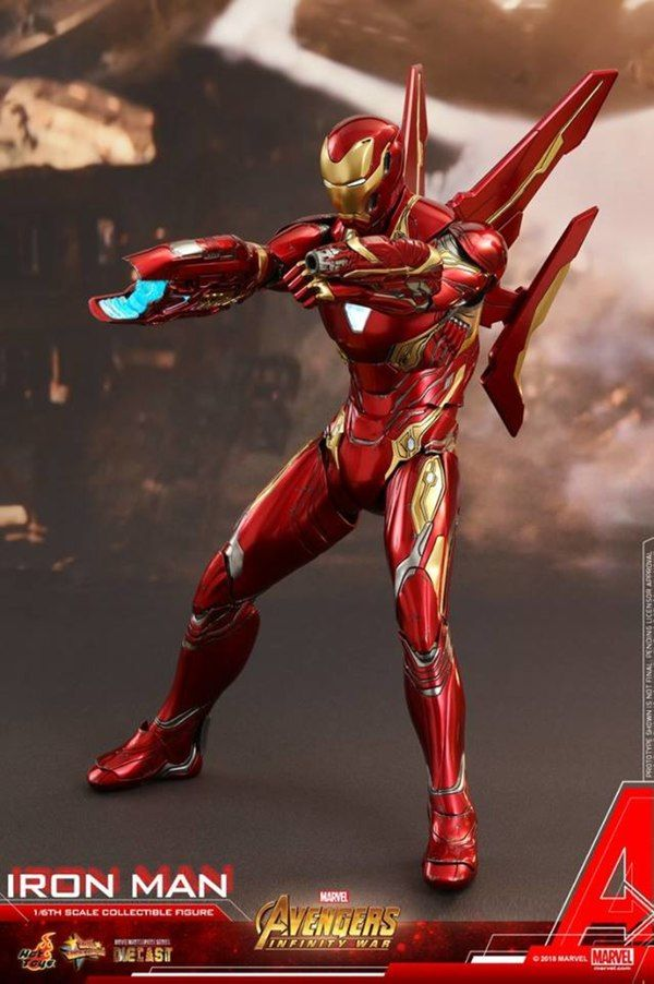 Avengers Infinity War 1 6th Scale Iron Man Collectible Figure