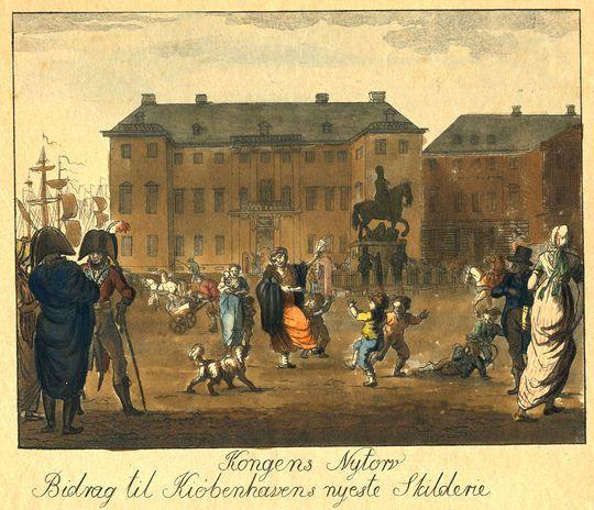 Kongens Nytorv ca. 1810