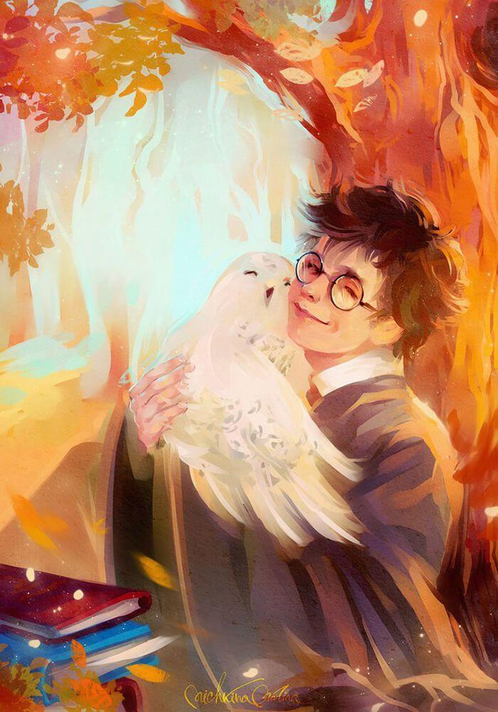 Арты и факты по Гарри Поттеру / Harry Potter fact and art