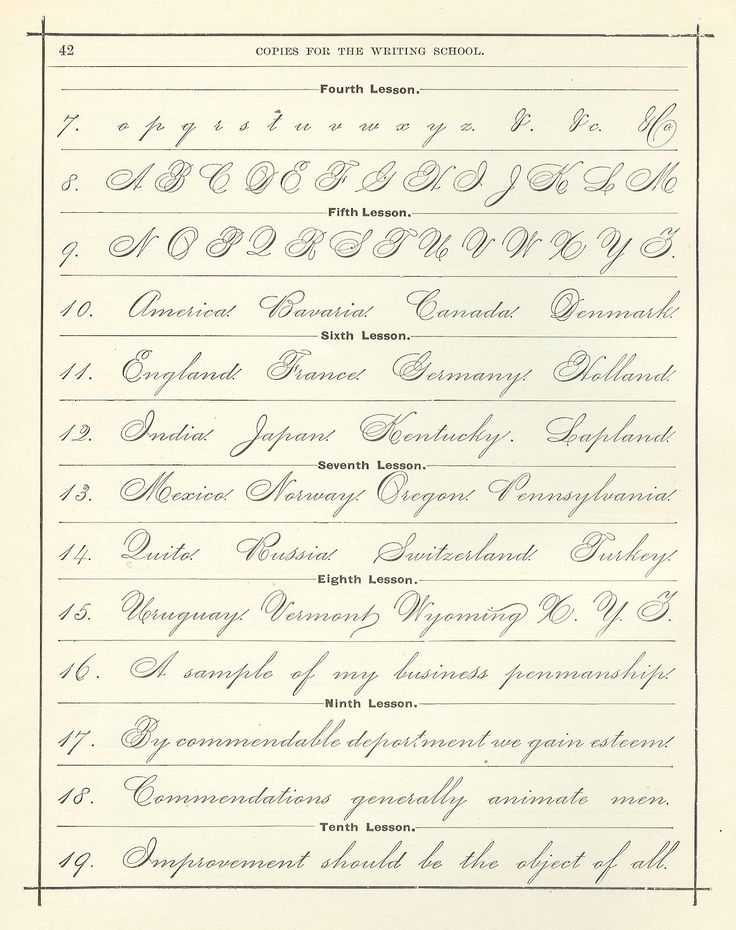 Style Spencerian Penmanship Lessons: Best 25+ Beautiful Handwriting Ideas On Pinterest