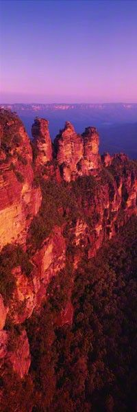 Three Sisters - The Blue Mountains - By Peter Lik -  Australian photographer