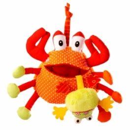 Lilliputiens Greedy crab Designed in Belgium