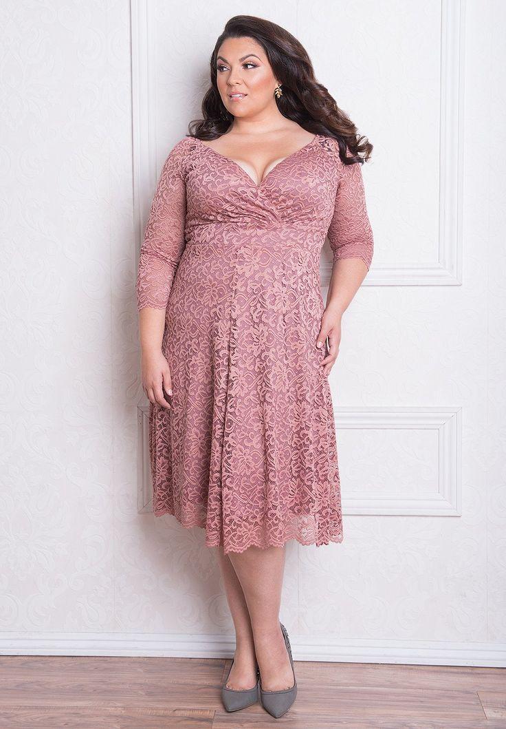 Igigi francesca plus size dress in black