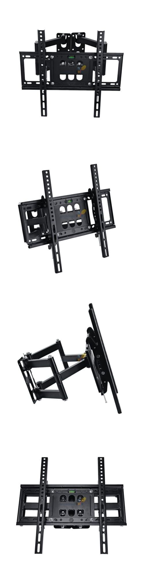 TV Mounts and Brackets: Full Motion Corner Articulating Lcd Led Tv Wall Mount Bracket 32 37 42 47 50 55 BUY IT NOW ONLY: $33.9