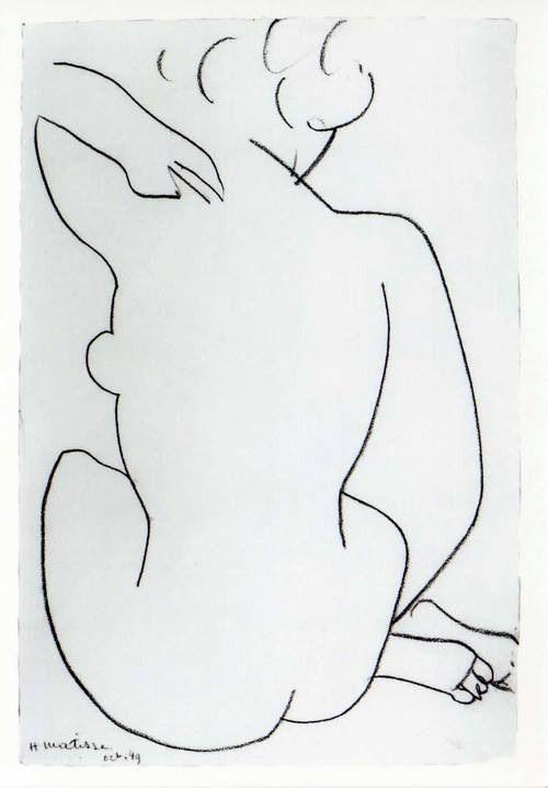 Tekening, Henri Matisse Zie voor Matisse…