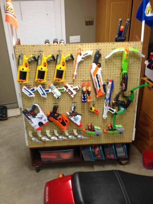 Nerf Gun Storage Rack Awesome Wall About My Blog Best Bedroom Industrial  Kids Of
