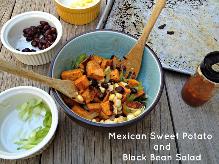 ... Pinterest | Mexican Sweet Potatoes, Black Bean Salads and Bean Salads