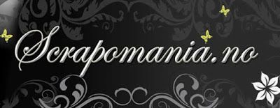 Elisabeth's scrappehjørne: I dag blogger jeg for scrapomania