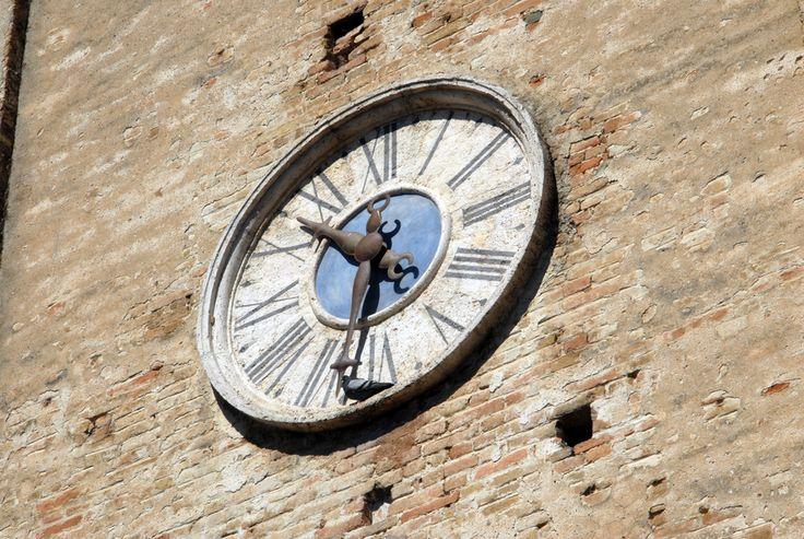 L'orologio della torre #terredelpiceno