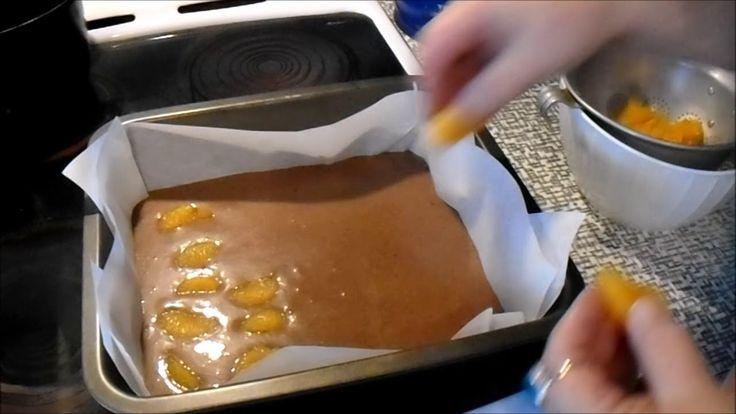 Mandarinkový perník