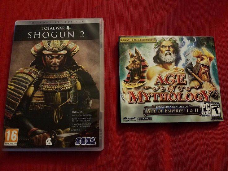 Shogun 2 Total War & Age of Mythology Bundle Computer Games PC Steam Empires NEW