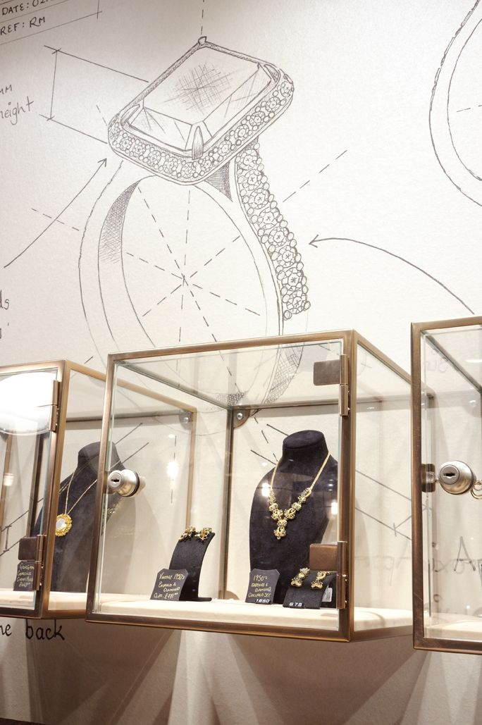 A jewellery store that educates shoppers about the exploitation of  mineworkers needs a unique environment - Retail Design World - jewelry  stores rings, ...