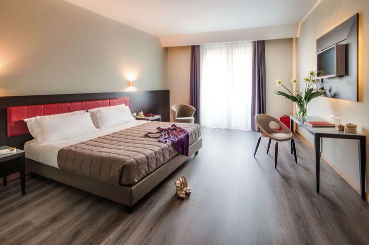 Le camere dell'Hotel Da Vinci Milano