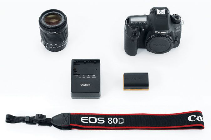 Canon EOS 80D EF-S 18-55mm f/3.5-5.6 IS STM Kit Refurbished | Canon Online Store
