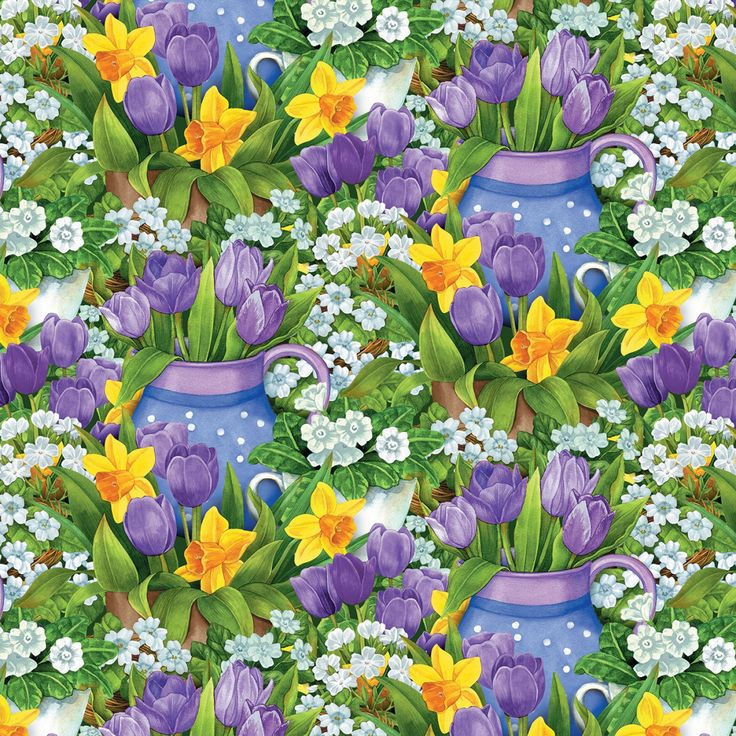 New - Garden Gathering  - Wilmington Prints - 1 yard - More Available - BTY