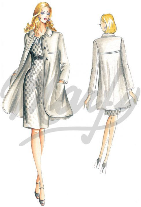 Our Patterns :: Marfy Collection 2010/2011 :: Autumn - Winter :: Sewing pattern 2239 -