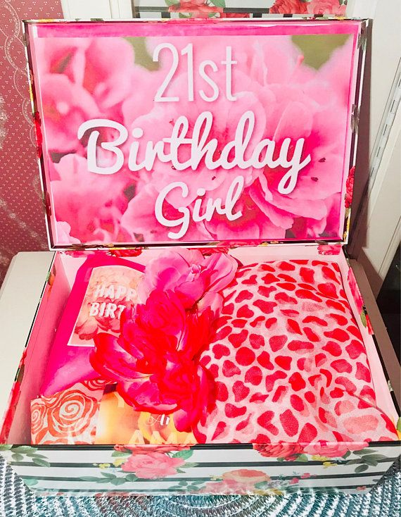 21st Birthday Youarebeautifulbox Birthday Girl Care Package Best