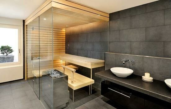 Small Modern Sauna Design Ideas » HomeIDb.com