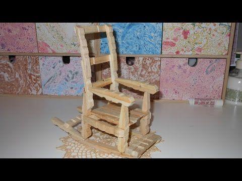 tutorial mesa con pinzas de madera / tutorial table with wooden pegs - YouTube