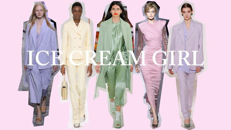 Gelato hues. For spring. Ground-breaking, hey? Park the cynicism, though; this season's twist comes in the pastel pile-up that saw parma violet head-to-toe at Victoria Beckham, lemon sorbet layers at Hermès and tiers upon tiers of pistachio at Sies Marjan. This might look like hard work, but it's surprisingly fast to concoct: open your wardrobe door, select every pastel item in sight, and stack those ice cream shades one on top of another like a triple scoop [i]coppetta[/i].