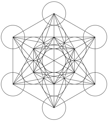 Metatrons Cube - 13 Angels